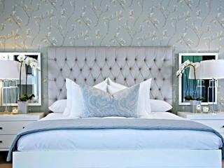 Joseph Avnon Interiors Спальня Синій