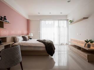 SING萬寶隆空間設計 Dormitorios de estilo escandinavo