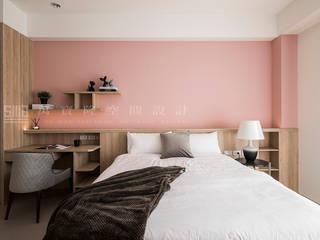 SING萬寶隆空間設計 Camera da letto in stile scandinavo