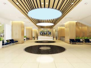 Work & Wonders Bangunan Kantor Modern
