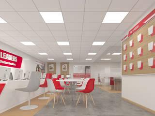 Work & Wonders Ruang Studi/Kantor Modern