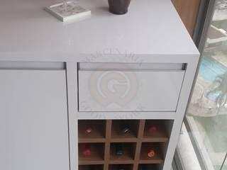 Marcenaria Good Work Wine cellar MDF White