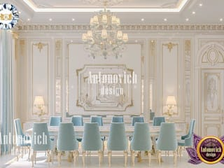 Luxury Antonovich Design غرفة السفرة