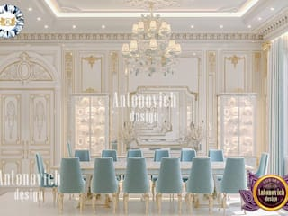 Luxury Antonovich Design Dining room
