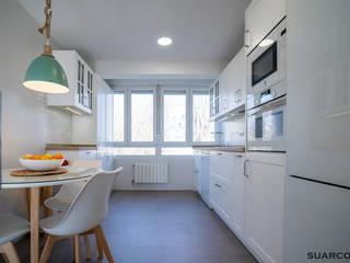 Suarco 置入式廚房 White