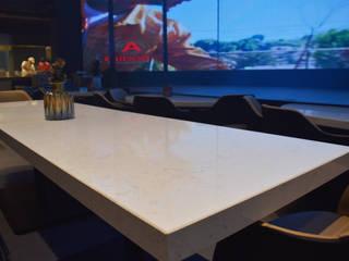 Ralph Wilson ห้องนั่งเล่นโต๊ะกลางและโซฟา หินควอตซ์ White