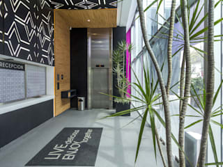 MANUEL TORRES DESIGN Modern hotels Wood Black