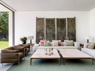 ÁBATON Arquitectura Phòng khách phong cách Địa Trung Hải