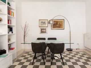 Facile Ristrutturare Moderne woonkamers