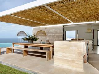 ÁBATON Arquitectura Nhà bếp phong cách Địa Trung Hải