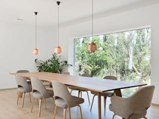 ÁBATON Arquitectura Mediterranean style dining room