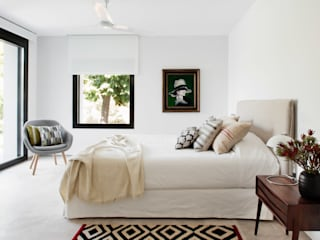 ÁBATON Arquitectura Phòng ngủ phong cách Địa Trung Hải