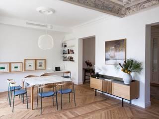 ÁBATON Arquitectura Phòng ăn phong cách hiện đại