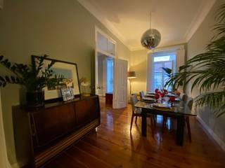 Home 'N Joy Remodelações Ruang Makan Klasik Green