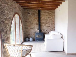 Volums-estudi arquitectura Modern living room