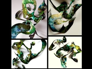 Holly Anderson Fine Art ArtworkSculptures Perunggu Green