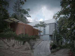 FXH Workshop & Studio ASAT.Studio Ruang Studi/Kantor Gaya Industrial