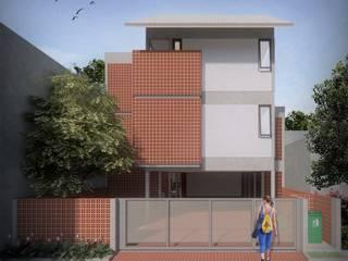 Sunter SoHo ASAT.Studio Balkon, Beranda & Teras Modern