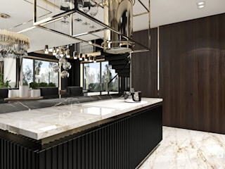 ARTDESIGN architektura wnętrz Modern kitchen