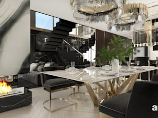 ARTDESIGN architektura wnętrz Modern dining room