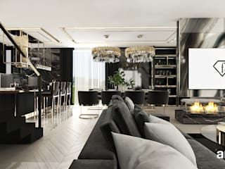 ARTDESIGN architektura wnętrz Modern living room