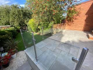 Glass Balustrade Installation in Leeds Origin Architectural Taman Modern Kaca Transparent