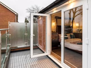 Glass Balustrade Project in Preston Origin Architectural Balkon Kaca Transparent