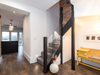 DIY Glass Staircase Balustrade Project in Swindon Origin Architectural Tangga Kaca Transparent