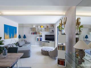 Studio Celletti Architetti Вітальня Білий