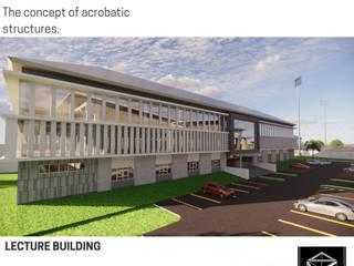 LECTURE BUILDING BujurSangkar Architect Sekolah Modern