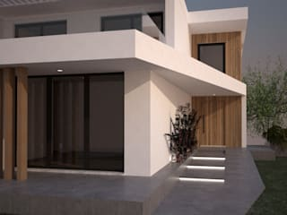 Helder Calça Designer de Interiores Villa Wood effect