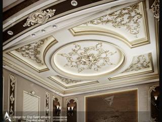 مهندس معمارى حر Klasik Oturma Odası Plastik Bej
