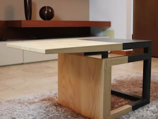 WoodLikeDesign Living roomSide tables & trays خشب متين