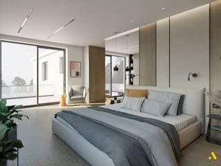 atoato Camera da letto moderna