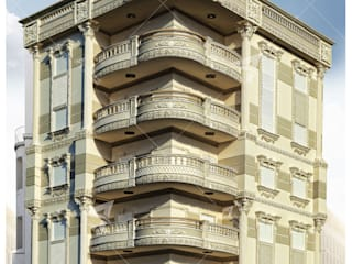 مهندس معمارى حر Villa Ahşap-Plastik Kompozit Bej