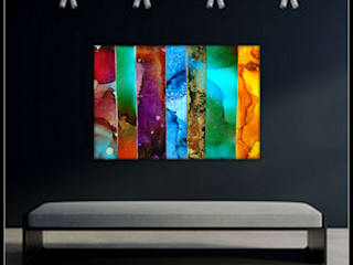 Holly Anderson Fine Art ArteCuadros y pinturas Metal Multicolor
