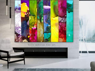 Holly Anderson Fine Art ArtworkPictures & paintings Metal Multicolored