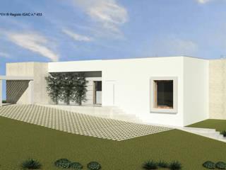 ATELIER OPEN ® - Arquitetura e Engenharia Casas ecológicas Concreto Blanco