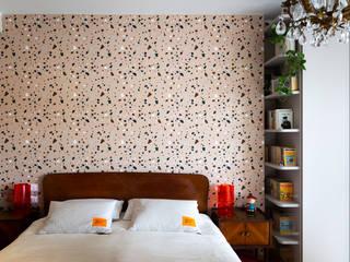 Lascia la Scia S.n.c. Eclectic style bedroom Pink