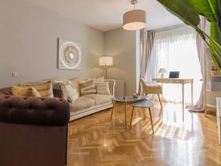Proyecto Electra Lares Home Staging Salones de estilo moderno