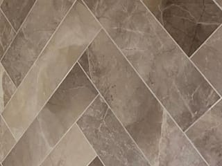 The Kirby's Marble Bathroom Tiles Project Tiles&Mosaics Baños modernos Azulejos Multicolor