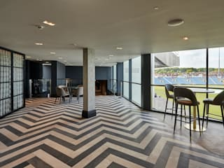 Emerald Headingley Cricket Stadium Tile Project Tiles&Mosaics Balcón Azulejos Multicolor