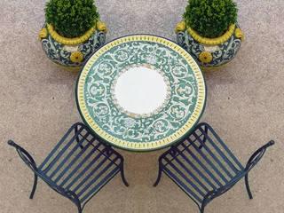 Giardino all'italiana VillaDorica GiardinoMobili Ceramica Verde