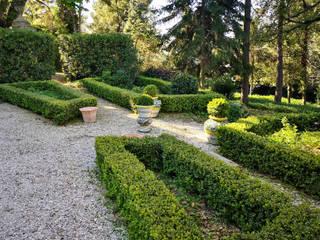 Giardino all'italiana VillaDorica Giardino anteriore Ceramica Variopinto