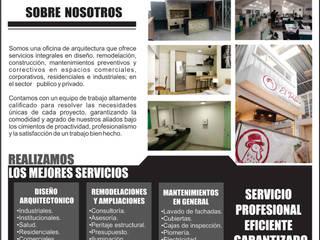 INFORMACION SERVICIOS PROFESIONALES Plano 13 Estudios y despachos de estilo minimalista Aglomerado Multicolor