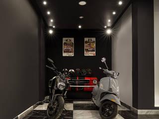 House H HC Arquitecto Garajes modernos Gris