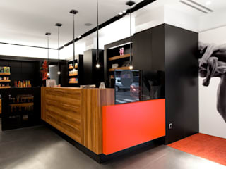 MANUEL TORRES DESIGN Modern commercial spaces Wood Wood effect