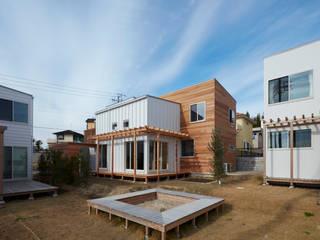 未来の風景をつくる A棟 ソトマ 有限会社笹野空間設計 モダンな 家