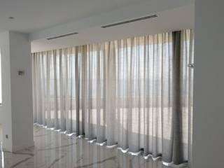Cortina tejido Thor de la Colección Nola Aroa Proyecto XXI Puertas y ventanasCortinas