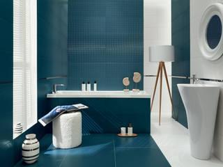 Domni.pl - Portal & Sklep Modern Bathroom Ceramic Blue